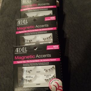 ARDELL MAGNETIG LASHES 003 4 boxes with 2 pair eac